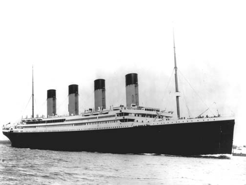 Titanic real life